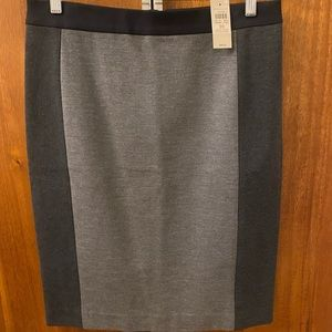 Ann Taylor Colorblock Skirt Size 10 new / with tag
